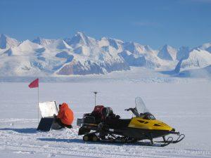Matt King in Antarctica