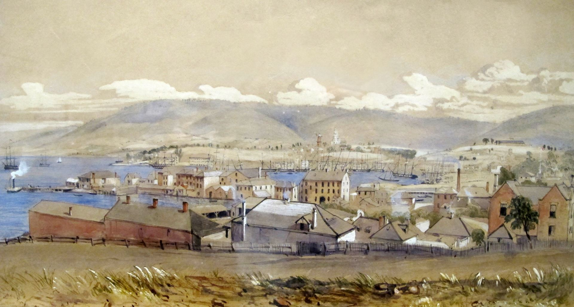 Hobart Town (detail)
