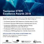 Tasmanian STEM Excellence Awards 2018